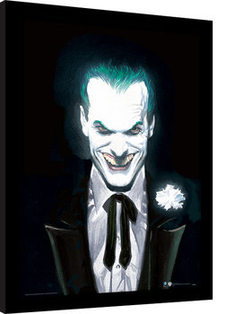 Inramad poster DC Comics - Joker Suited