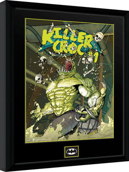 DC Comics - Killer Croc Sewers Inramad poster