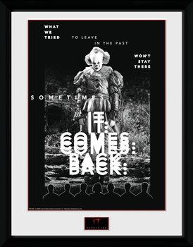 Det: Kapitel 2 - It Comes Back Inramad poster