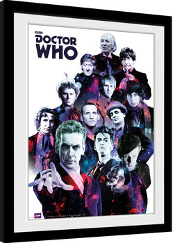 Inramad poster Doctor Who - Cosmos