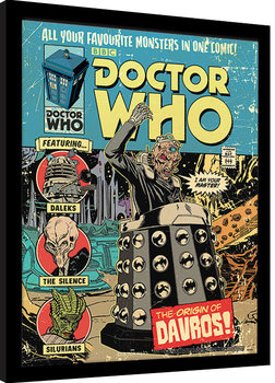 Inramad poster Doctor Who - The Origin of Davros