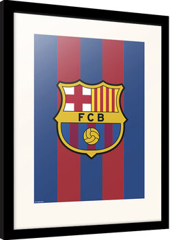 Inramad poster FC Barcelona