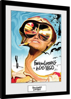 Fear And Loathing In Las Vegas - Key Art Inramad poster