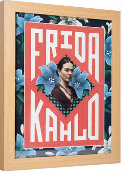 Inramad poster Frida Kahlo