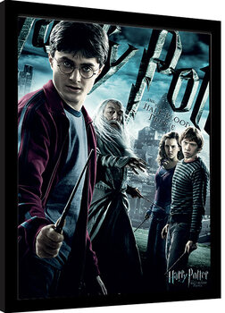Inramad poster Harry Potter - Half-Blood Prince