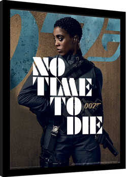 Inramad poster James Bond: No Time To Die - Nomi Stance