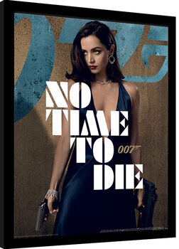 Inramad poster James Bond: No Time To Die - Paloma Stance