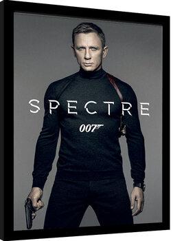 Inramad poster James Bond: Spectre - Colour Teaser