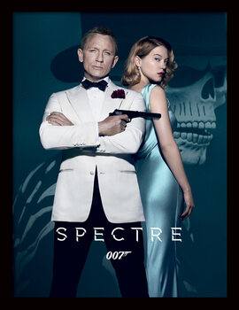 Inramad poster James Bond: Spectre - One Sheet