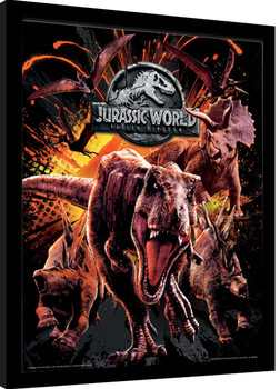 Jurassic World: Fallen Kingdom - Montage Inramad poster