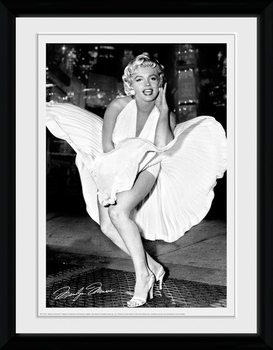 Marilyn Monroe - Times Square Poster & Affisch