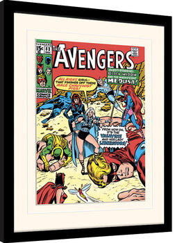 Inramad poster Marvel Comics - Male Chauvinist Pigs