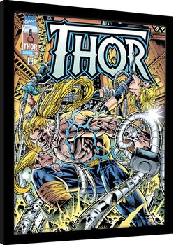 Inramad poster Marvel Comics - Thor Tentacles