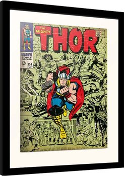 Inramad poster Marvel - Thor