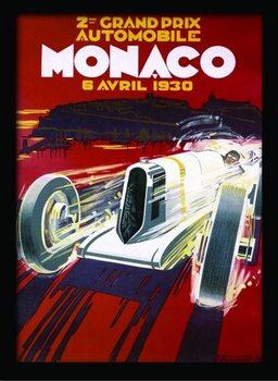 MONACO (1) Inramad poster