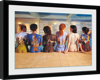 Pink Floyd - Back Catalogue Inramad poster
