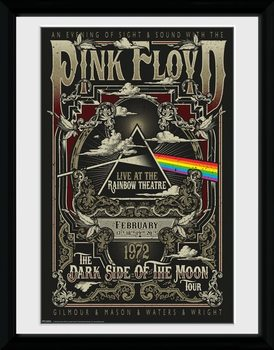 Inramad poster Pink Floyd - Rainbow Theatre