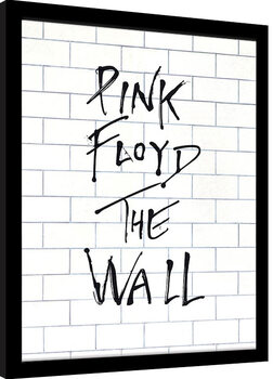 Inramad poster Pink Floyd - The Wall Album