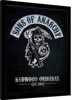 Sons of Anarchy - Cut Inramad poster