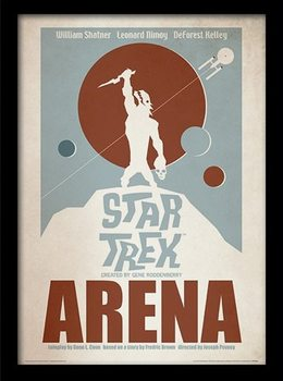STAR TREK - arena Inramad poster