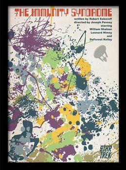 STAR TREK - immunity syndrome Inramad poster
