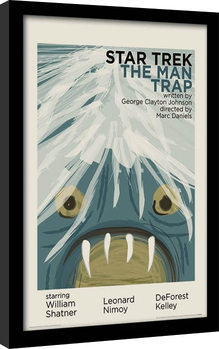 Star Trek - The Man Trap Inramad poster
