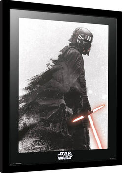 Inramad poster Star Wars: Episod IX - The Rise Of Skywalker - Kylo Ren