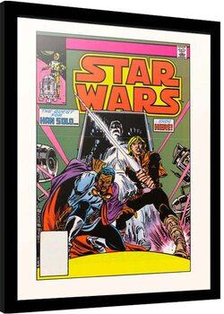 Inramad poster Star Wars - Return to Stenos