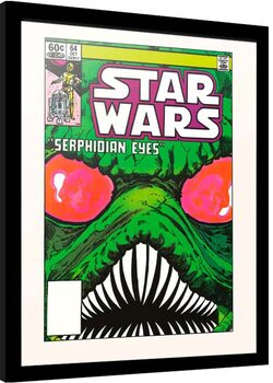 Inramad poster Star Wars - Serphidian Eyes