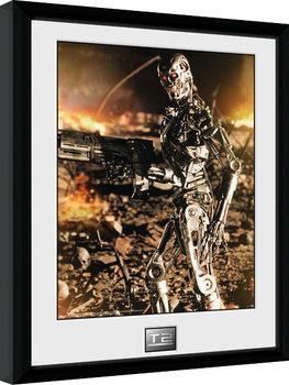 Terminator 2 - Endo Inramad poster