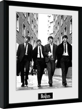 Inramad poster The Beatles - In London Portrait