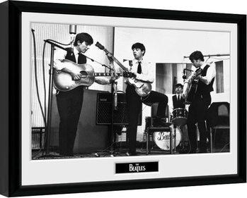 The Beatles - Studio Inramad poster