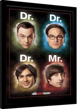 Inramad poster The Big Bang Theory - Dr Mr