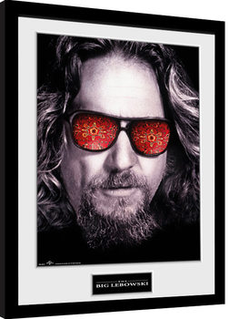 The Big Lebowski - The Dude Inramad poster