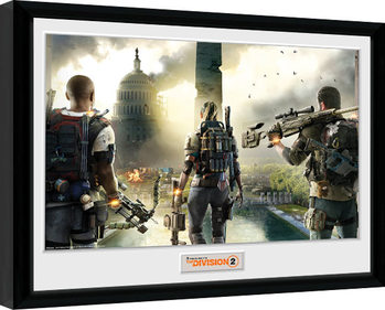 The Division 2 - Landscape Inramad poster