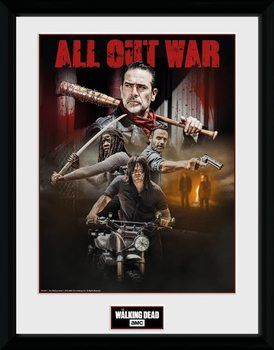 The Walking Dead - Season 8 Collage Inramad poster