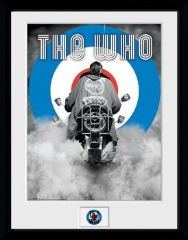 Inramad poster The Who - Quadrophenia