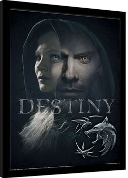 Inramad poster The Witcher - Destiny