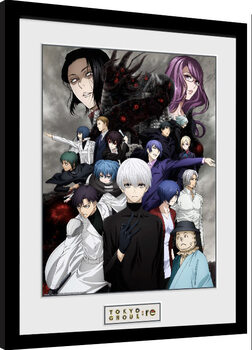 Inramad poster Tokyo Ghoul: Re - Key Art 3