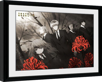 Inramad poster Tokyo Ghoul: Re - Red Flowers