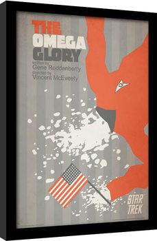 Star Trek - The Omega Glory Poster encadré