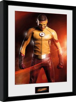 The Flash - Kid Flash Poster encadré