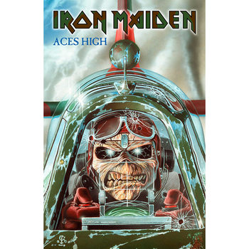 Poster in Tessuto Iron Maiden - Aces High