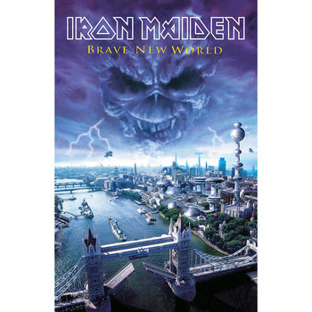 Poster in Tessuto Iron Maiden - Brave New World