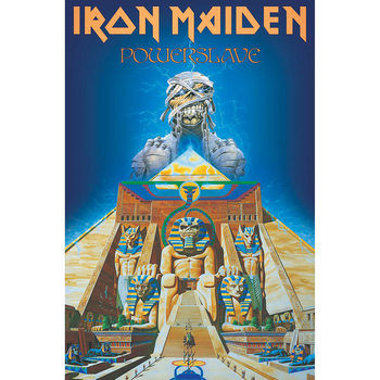 Poster in Tessuto Iron Maiden - Powerslave