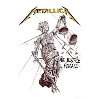 Poster in Tessuto Metallica - And Justice For All