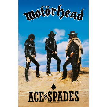 Poster in Tessuto Motorhead - Ace Of Spades