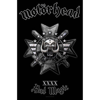 Poster in Tessuto Motorhead - Bad Magic