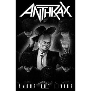 Poster textile Anthrax - Among The Living