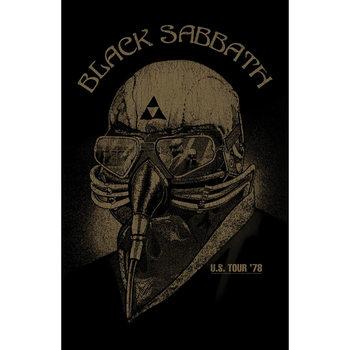 Poster textile Black Sabbath - Us Tour '78